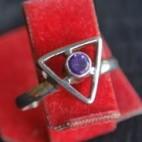 Violet Eye Rings