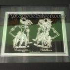 Wayang Silver Frame
