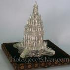 Miniatur Prambanan Silver